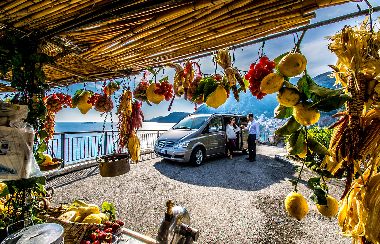 Amalfi Coast from Sorrento